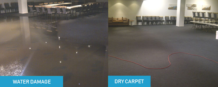 Flooded Carpet Drying Sydney